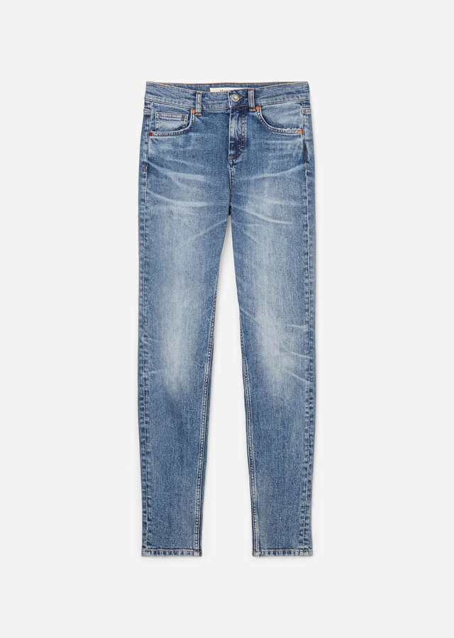 Jeans Skara Skinny High Waist clean jean wash