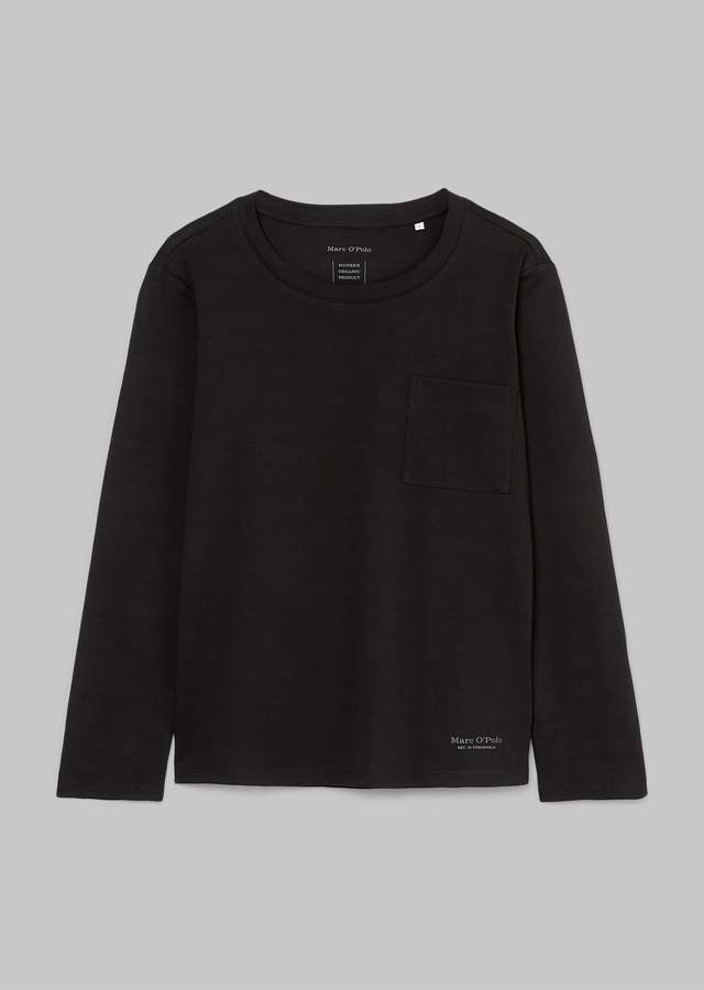 Organic Cotton Longsleeve black