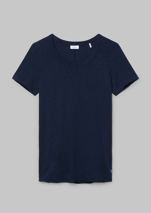 Slub T-Shirt Organic Cotton scandinavian blue