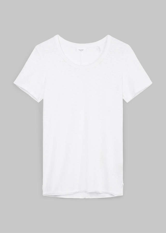 Slub T-Shirt Organic Cotton white