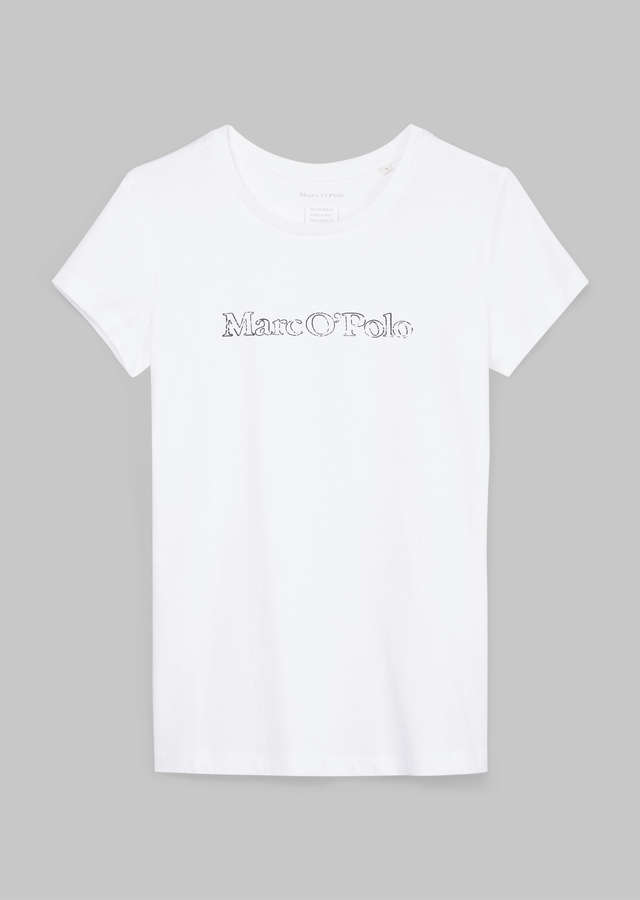 Print T-Shirt regular fit white