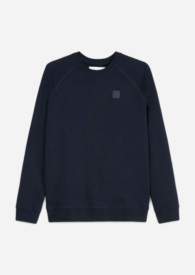 Sweatshirt Regular Fit scandinavian blue