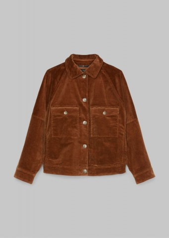 Cord-Jacke, chestnut brown