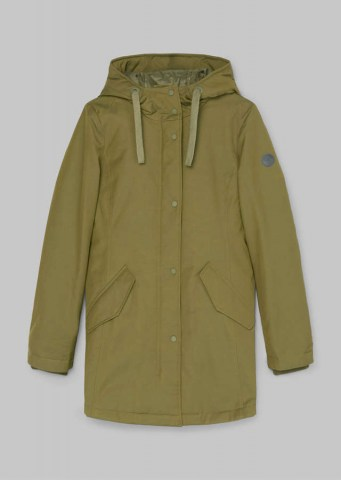 Kurz-Parka Thermore Ecodown-Füllung Natural olive