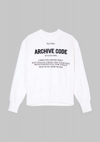 Oversize Sweatshirt, off white