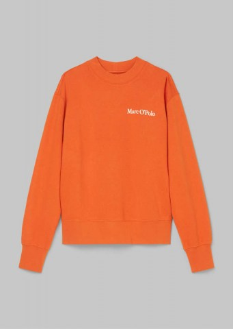 damen_sweatshirt_organic_cotton_pumpkin_orange_marcopolo