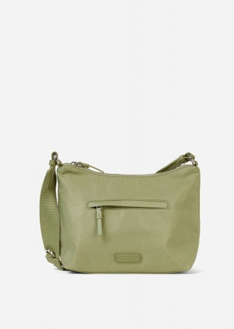 Recycelte Nylon Crossbody Bag dried sage