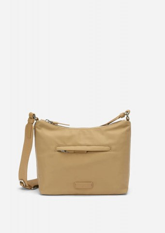 Recycelte Nylon Crossbody Bag soaked sand