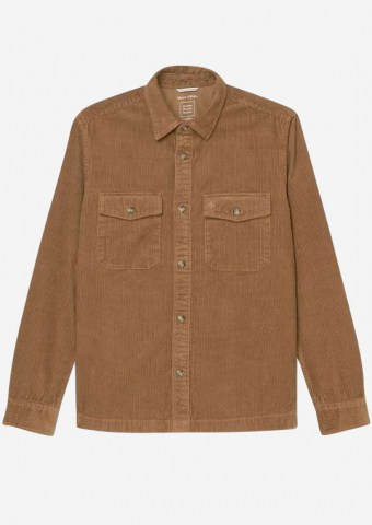Overshirt aus Cord, coffee liqueur